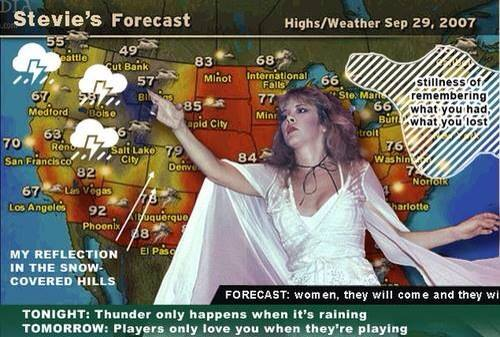 Stevie Nicks Weather