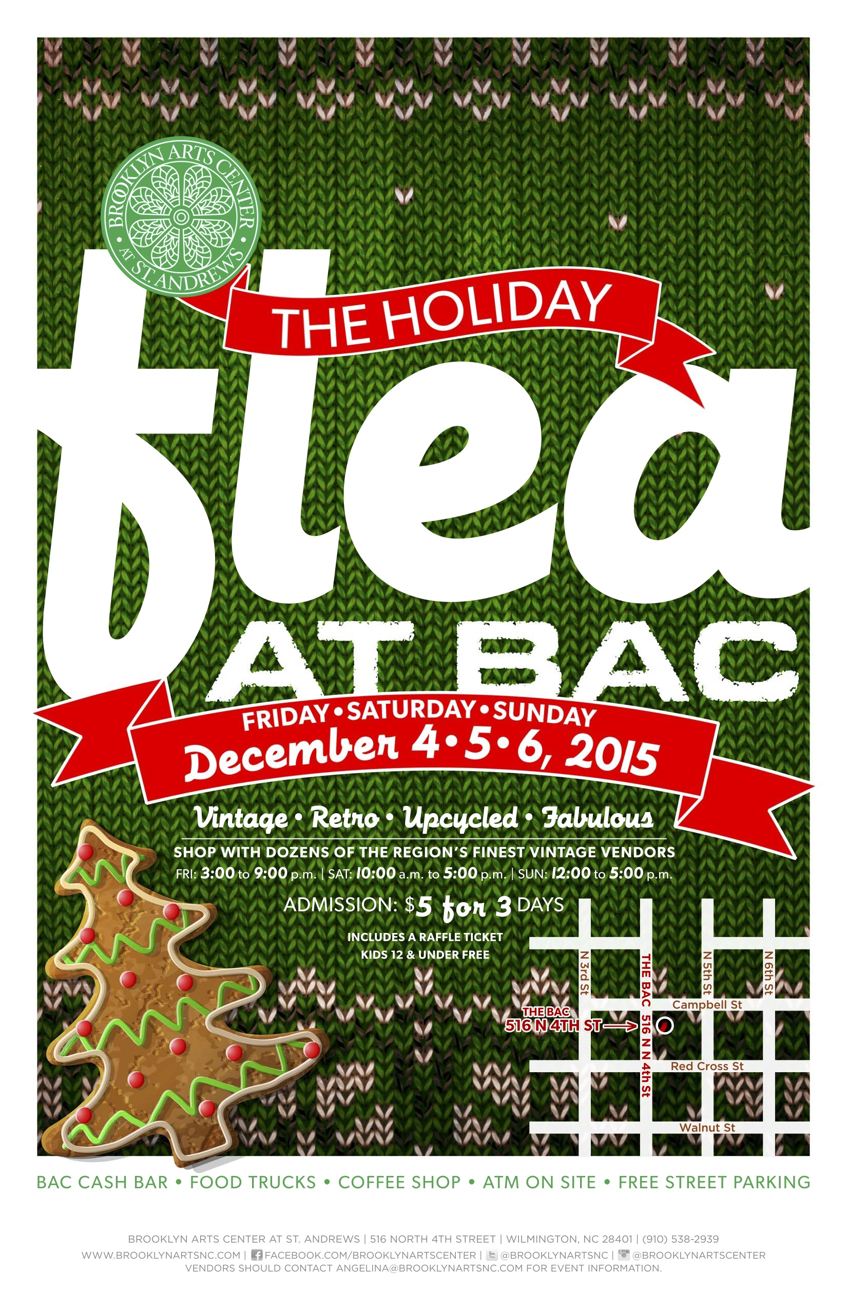 Holiday Flea Poster 2015