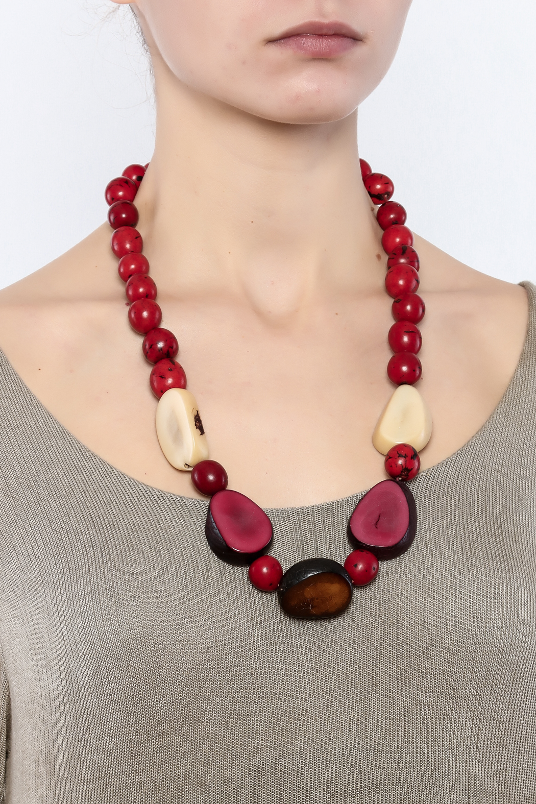 Amazon Tagau Pambil Seed Necklace